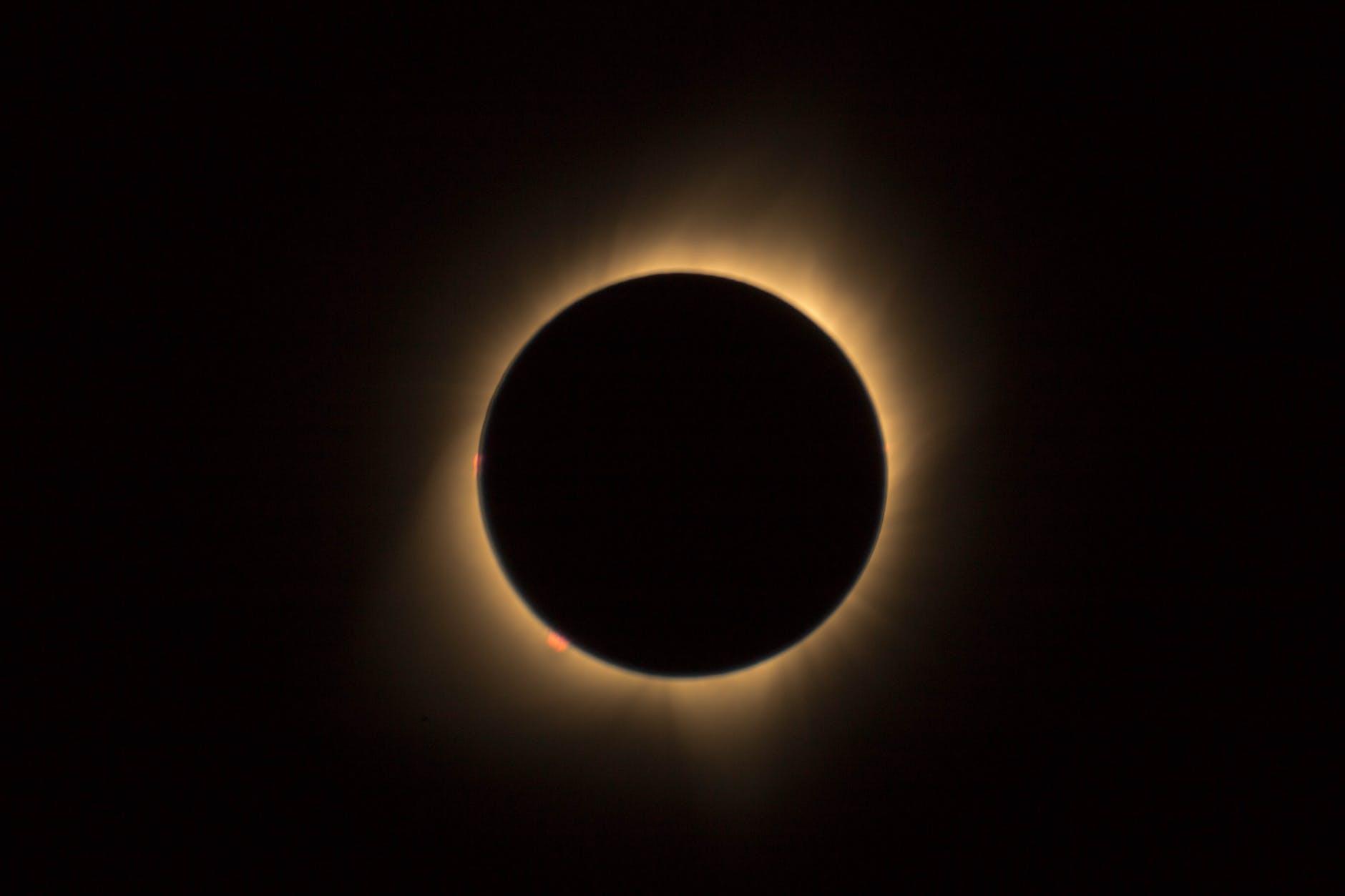 a full solar eclipse